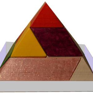 Układanki geometryczne 3D